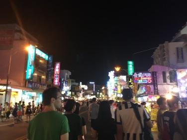 Kenting Road at night