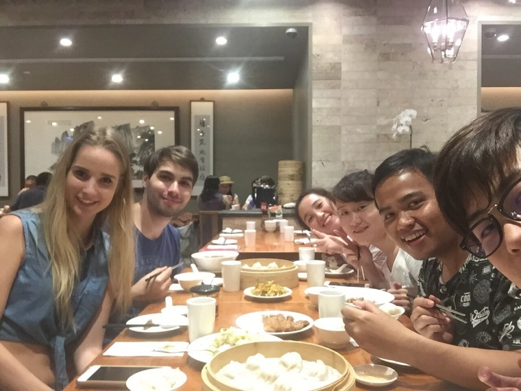 Dinner at Din Tai Fung