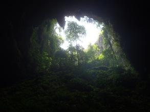 Inside Goa Jomblang